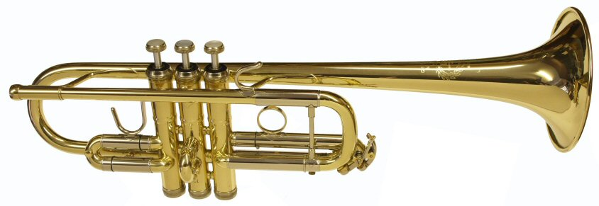 Second Hand B&S Challenger C Trumpet. Good condition. Large bore. Supplied in new B&S case. No mouthpiece included. Price £899.00