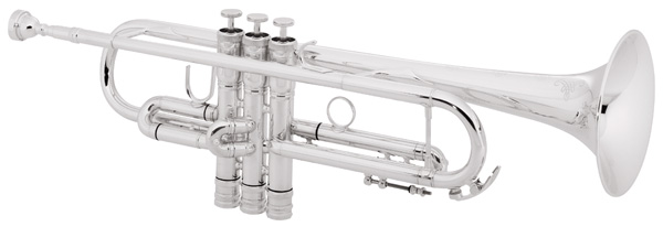"Conn 52BSP Trumpets. CONNstellation, Bb, .462"" (11.73mm) bore, 4-7/8"" (124mm) seamless bell, monel valves, reverse leadpipe, rounded main tuning slide crook, heavy top and bottomvalve caps. 3C mouthpiece, deluxe case."