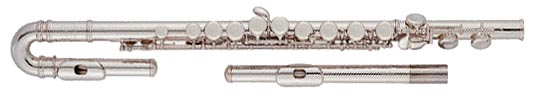 Curved Head Flutes