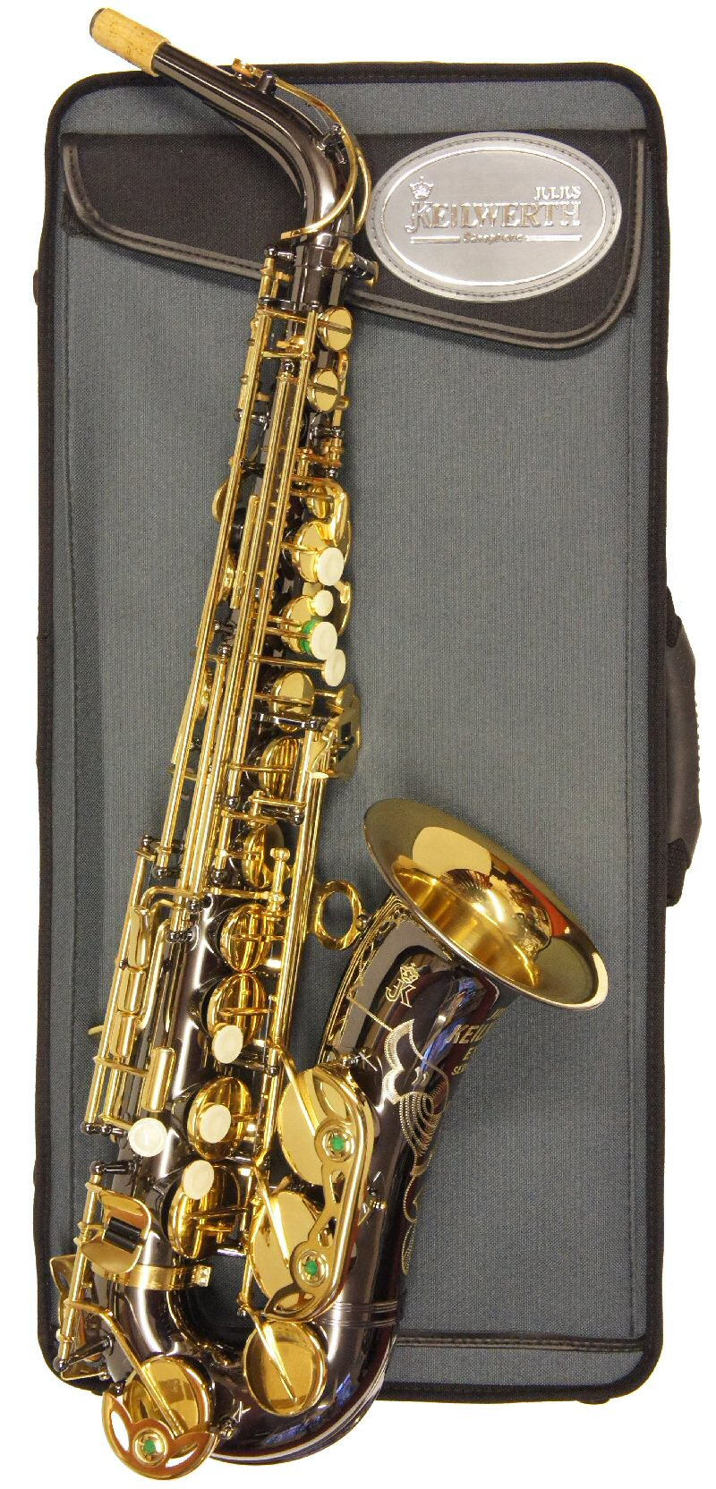 Ex-Demo Keilwerth EX90 Black Nickel Alto Sax