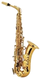 Keilwerth ST90 Alto Sax. Keilwerth has made saxophones since 1925, with an emphasis on quality which remains unchanged today: To offer the musician a reasonable price/ performance relationship, and to continuously improve the instruments both in quality and technically... the alto and tenor saxophones ST 90 Series IV and the soprano saxophones ST 90 series III are the result of this philosophy. The wish to be able to offer professional standards at a reasonable price was realized with this series. The Keilwerth ST90 Alto Sax Series III and IV alto saxes provide not only instruments for the student, but also for future orchestral use. The saxophones ST 90 Series IV are available in gold- lacquered