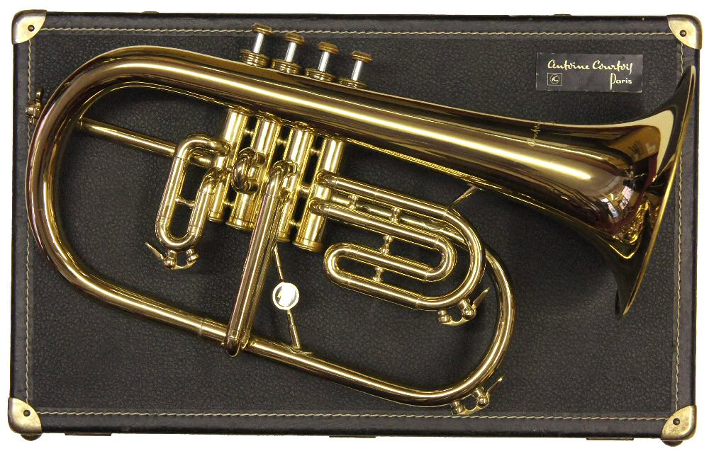Second Hand Courtois 156 4 Valve Flugel Horn