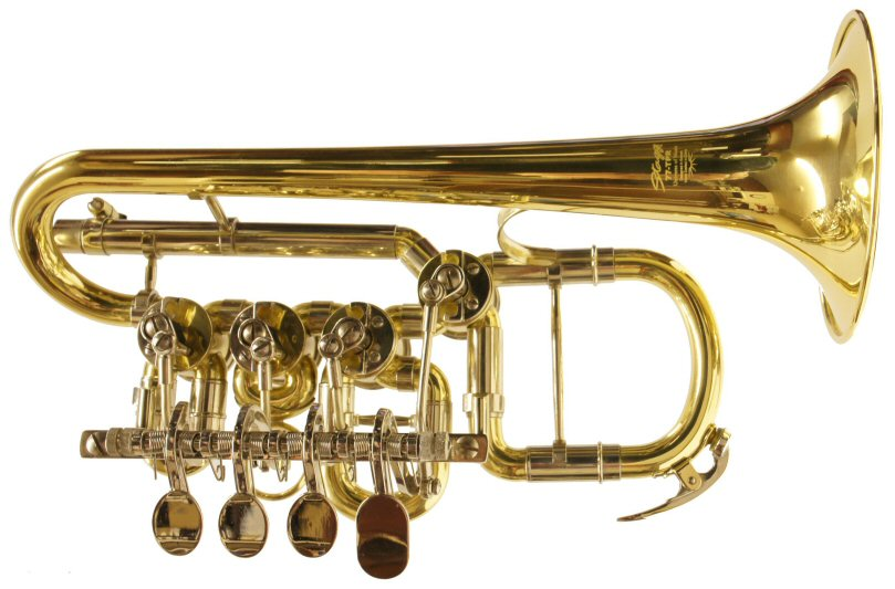 Stagg Rotary Valve Piccolo Trumpet