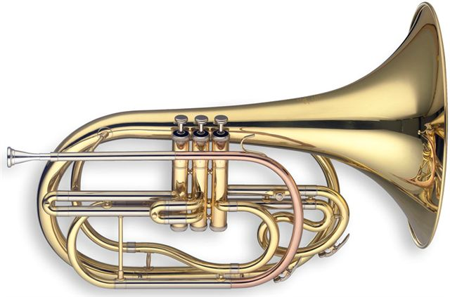Levante LV-MB5105 Marching French Horn