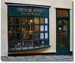 Welcome to Trevor Jones Brass & Woodwind