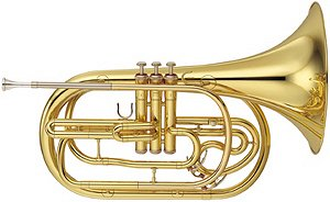 Yamaha Marching French Horn YHR302M