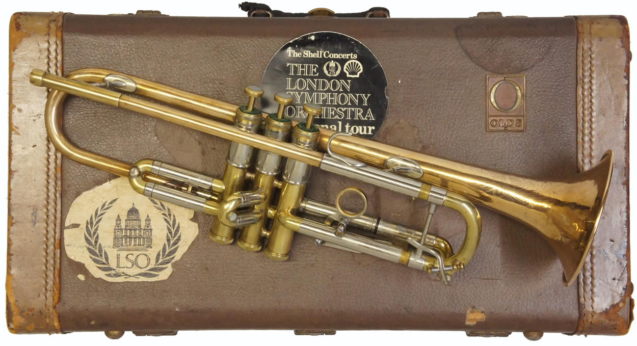 Second Hand Olds Recording Trumpet