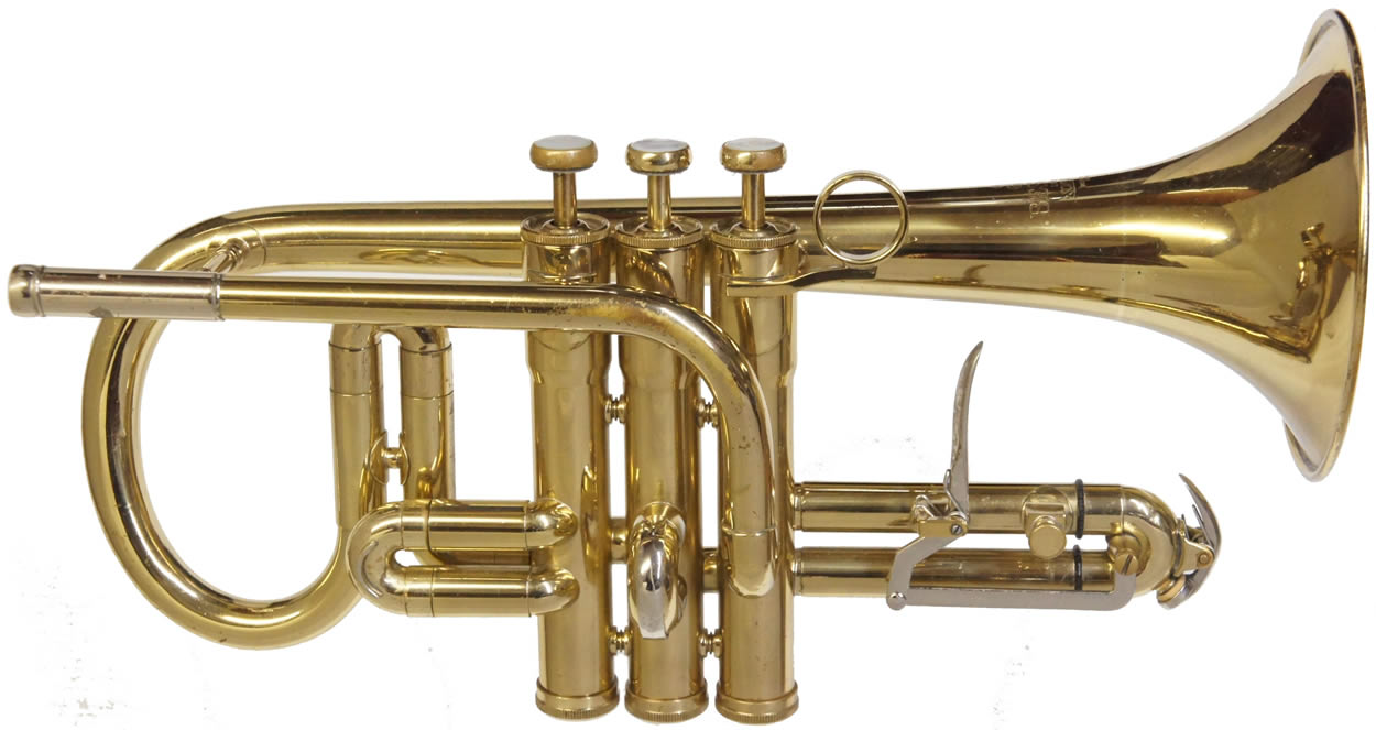 Second Besson Sovereign Soprano Cornet