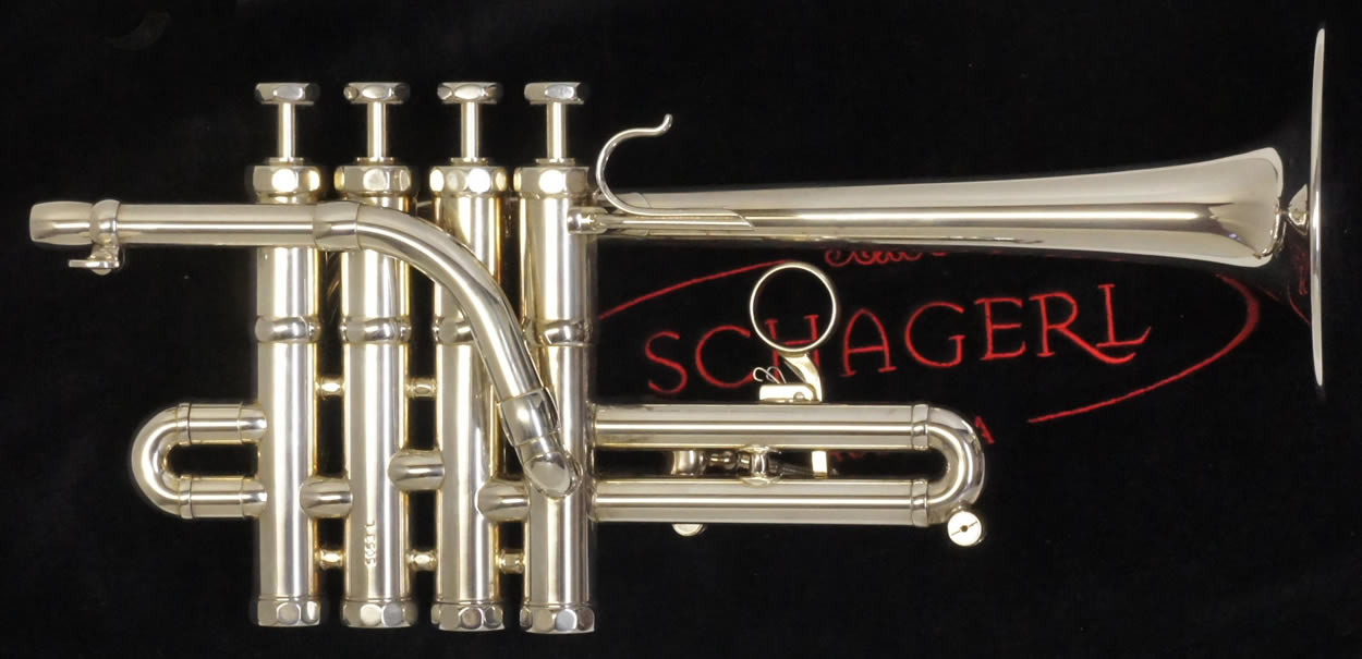 Second Hand Schagerl Eclipse Piccolo Bb/A Trumpet