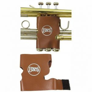 Bach Brown Leather Trumpet Valve Guard