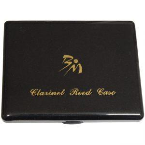 B & M clarinet reed case black
