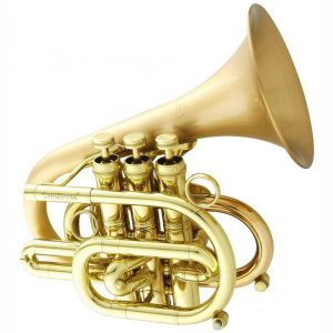 CarolBrass 7000 GLS Legend Heavy Pocket Trumpet Squre