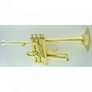 CarolBrass CPC 7775 YLS Bb A L Piccolo Trumpet