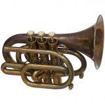 CarolBrass CPT 3000 GLS Bb PA Pocket Trumpet Patina By Taylor