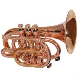 CarolBrass CPT 3000 GLSD Bb RR Pocket Trumpet