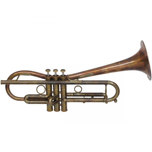 CarolBrass CTR 5280L GLTD Bb PA Euro Bell Trumpet Patina by Taylor