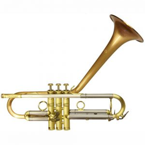 CarolBrass Dizzy Trumpet CTR 5260L RSMD Bb SL Square