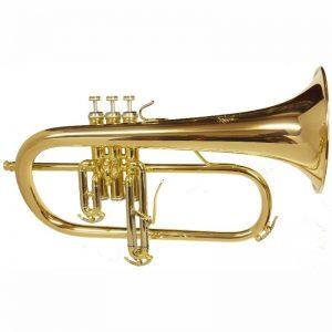 Challenger Flugel Gold Brass Bell