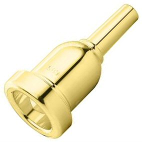 Denis Wick Heavytop Trombone Mouthpiece Gold