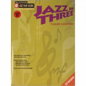 Hal Leonard Jazz Play Along 31
