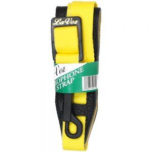 La Voz Sax Strap Yellow