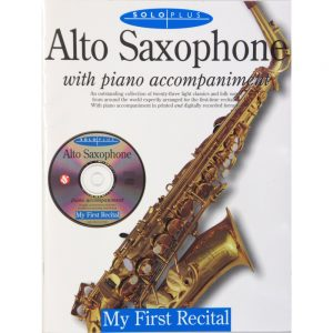 My First Recital Alto Sax