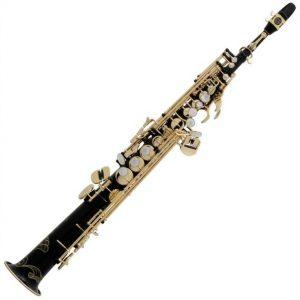 Selmer Paris S80 Series III 125 Soprano Saxophone Jubilee Model Black