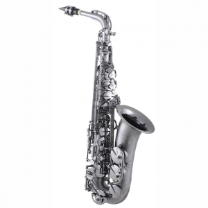 System 54 R Series Power Bell Alto Sax Black Ice