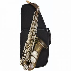 System 54 R Series Power Bell Alto Sax Pure Brass Silver Keys
