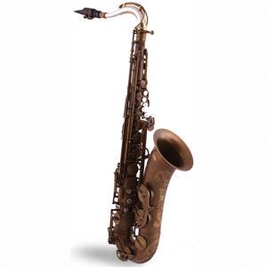 System 54 Silver Neck Tenor Sax Pure Brass