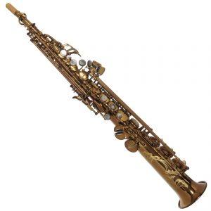 System 54 Soprano Sax 2 necks Vintage Gold 1 e1566114991123