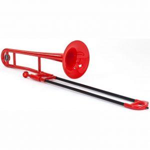 Tromba Red Plastic Trombone