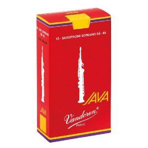 Vandoren Red Java Soprano Sax Reeds