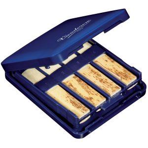 Vandoren clarinet reed case navy blue