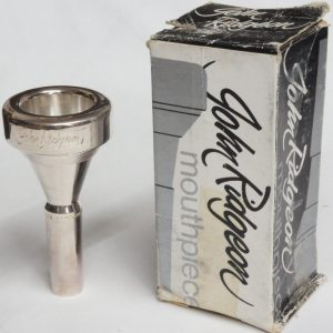 John Ridgeon 3 large shank trombone mouthpiece - second hand