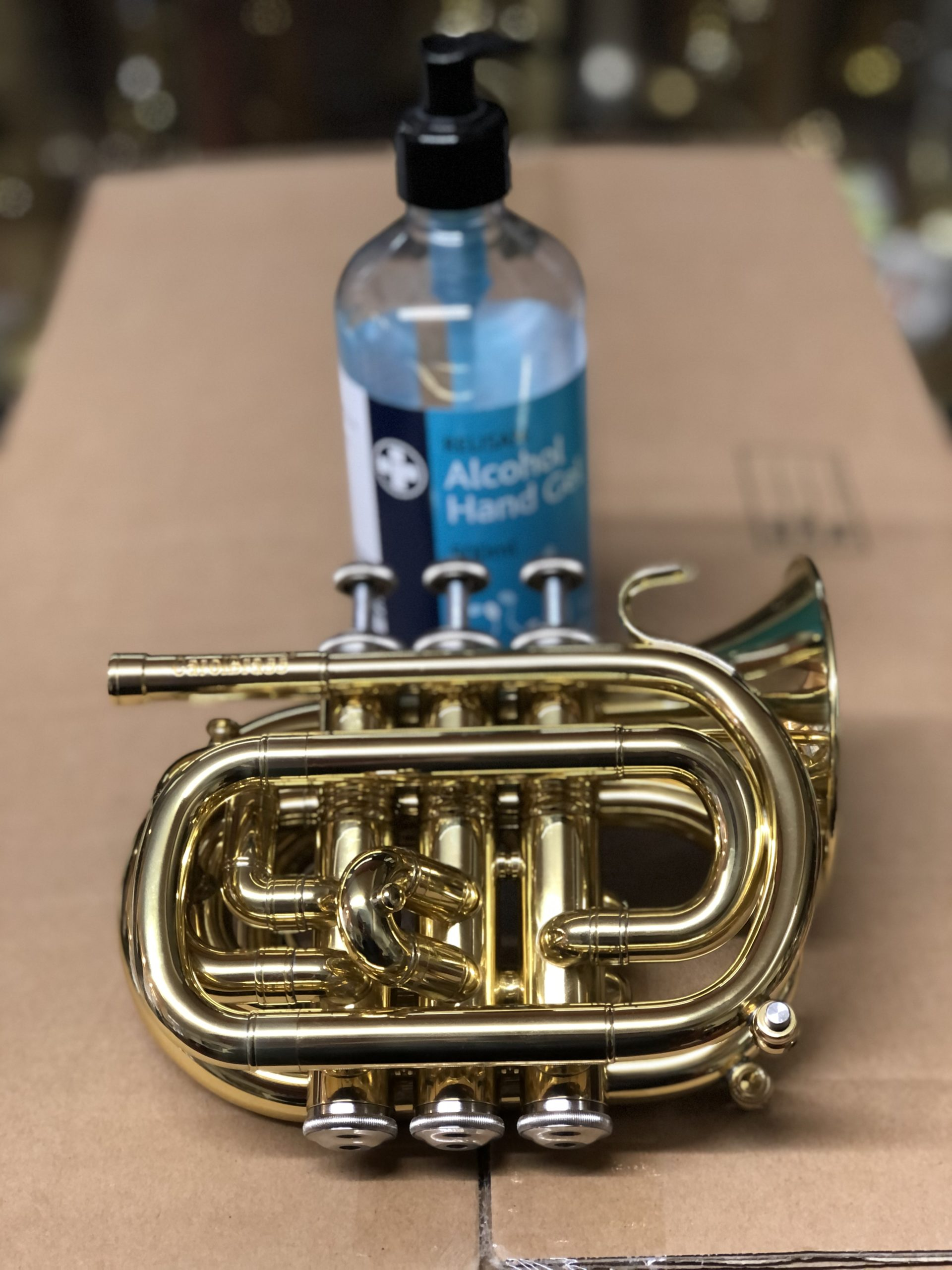 Hand Sanitiser and Your Instrument